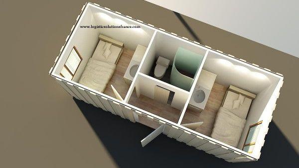 Logistic Solutions logement, container studio