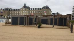 Le Polo Beach, restaurant de plage en containers