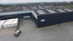 Le batiment Logistic Solutions Containers