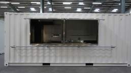 LS Container, cuisine mobile en container