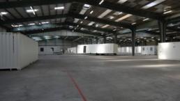 Usine de fabrication de containers aménagés près de Rennes