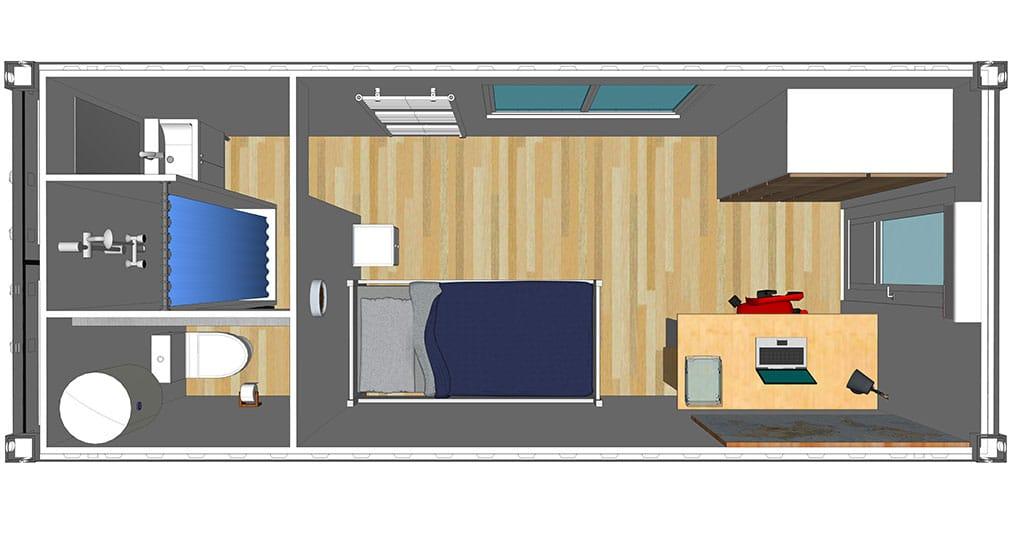 chambre tudiante logistic solutions. Black Bedroom Furniture Sets. Home Design Ideas
