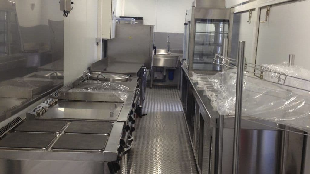 Container kitchen cuisine Logistic Solutions