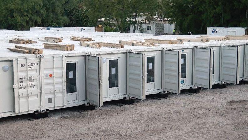 Base vie en containers pour logements