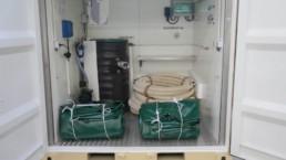 Container station eau et pompe de relevage LS Container