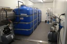 Container traitement des eaux