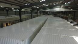 LS Container, intérieur usine