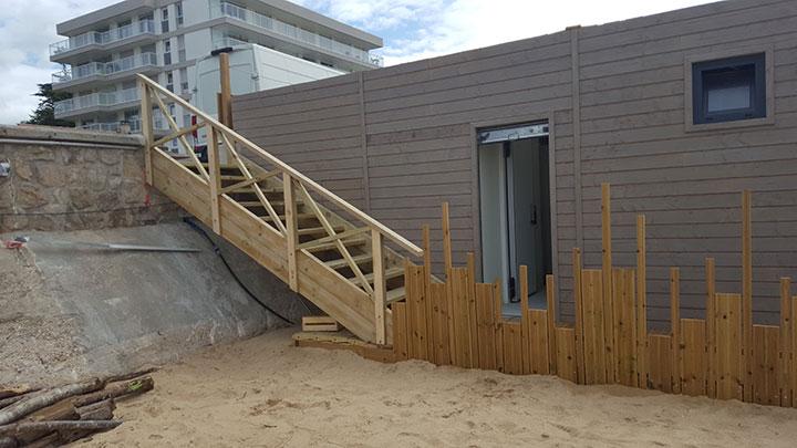 escalier sur mesure polo beach 1 logistic solutions. Black Bedroom Furniture Sets. Home Design Ideas