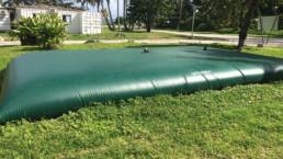 Poche de stockage des eaux usées avant traitement