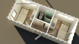 Logistic Solutions Container : chambre container