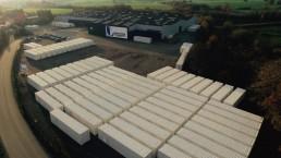 Usine de fabrication de container aménagés