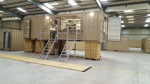 Container cuisine mobile