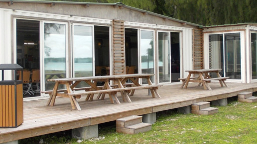 Terrasse base vie containers